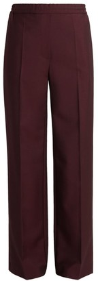 Acne Studios Wool & Mohair-Blend Trousers