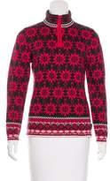 Obermeyer Patterned Long Sleeve Sweater