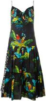 Marc Jacobs parrot print dress - women - Silk/Cotton - 4