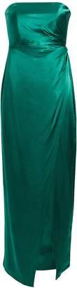 Fame & Partners Aberdeen Strapless Satin Dress