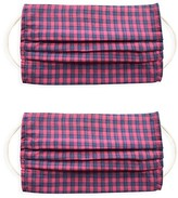 Thumbnail for your product : Rails 2-Pack Checkered Face Mask Set
