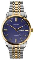 Sekonda - Men's Silver And Gold Analogue Bracelet Watch 1667.28
