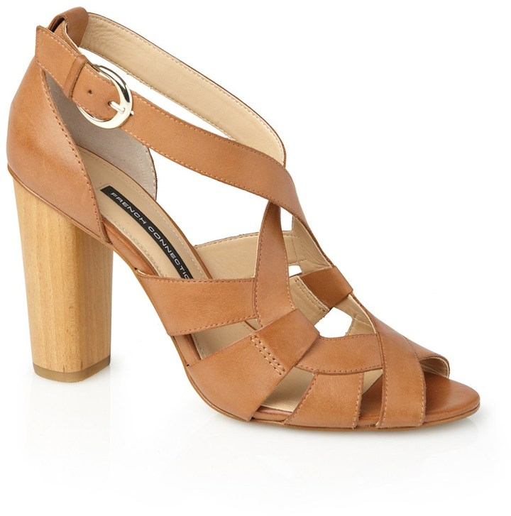French Connection Petra Leather Heels