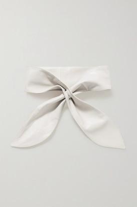 Isabel Marant Kressy Leather Belt - Off-white