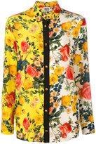 Fausto Puglisi floral print shirt - women - Silk - 40