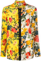 Fausto Puglisi floral print shirt
