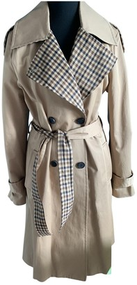 Claudie Pierlot Spring Summer 2019 Beige Cotton Trench coats