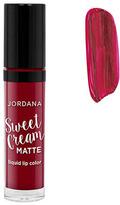 Jordana Sweet Cream Matte Liquid Lip Color - Red Velvet Cake