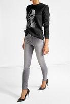 Karl Lagerfeld Embroidered Cotton Sweatshirt