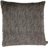 Aviva Stanoff Fancy Faux Fur Cushion 50x50cm - Slate
