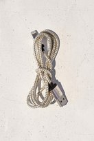 Urban Outfitters 3-Ft Metallic Lightning Cord