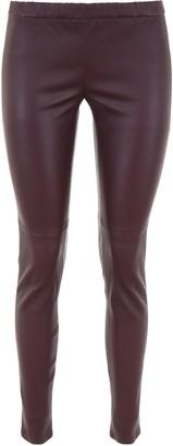MICHAEL Michael Kors Leather Leggings