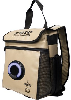 Frio FRIO VFRIO360BP-TAN 360 Backpack Cooler with Bluetooth Speaker (Tan)