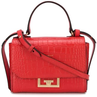 Givenchy Embossed Crocodile Effect Tote Bag