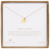 Dogeared 14K Gold Plated Sterling Silver Mom Bridal Necklace