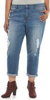 JLO by Jennifer Lopez Plus Size Boyfriend Jeans