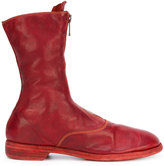 Guidi front zip calf-length boots - women - Horse Leather/Leather - 39