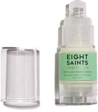Eight Saints Bright Side Mini Deep Clean Cream Cleanser with Glycolic Acid, 0.5 fl. oz. / 15 ml
