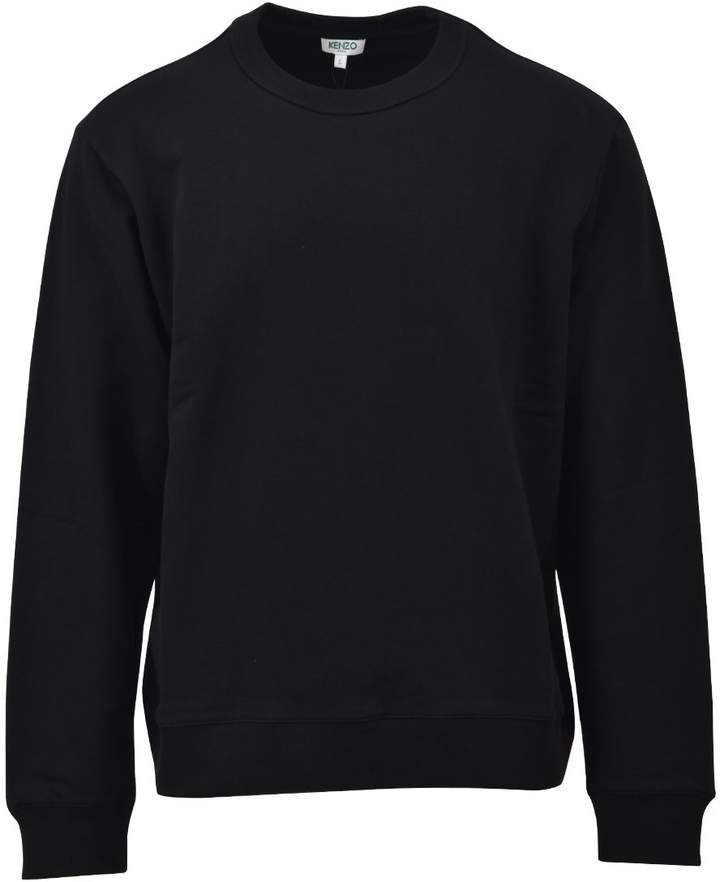 Kenzo Black Cotton Sweater