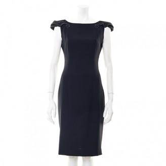 L'Wren Scott Black Wool Dress for Women