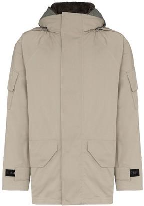 Yves Salomon Hooded Parka Jacket