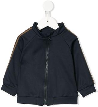 Fendi Kids zipped up FF motif jacket