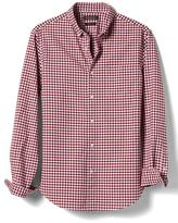 Banana Republic Grant-Fit Gingham Mechanical Stretch Oxford Shirt