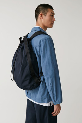 Cos Drawstring Nylon Backpack