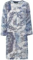 Linen Willow Pattern Tunic