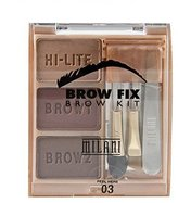 Milani Brow Fix, Dark, 0.15 Ounce
