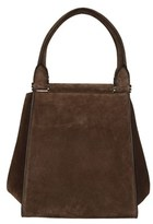 Max Mara Women's Brown Suede Shoulder Bag.