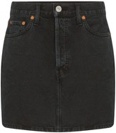 RE/DONE Denim Mini-Skirt