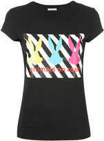 Iceberg Bugs Bunny T-shirt - women - Cotton/Spandex/Elastane - 38