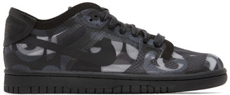 Comme des Garcons Black Nike Edition Dunk Low Sneakers