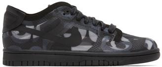 Comme des Garcons Black Nike Edition Dunk Low Sneakers