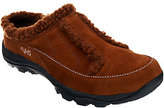 Ryka As Is Faux Shearling Suede Clogs - Arctica
