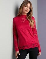 Vero Moda Highneck Lace Top
