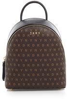 DKNY Coated logo mini backpack