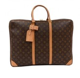 Louis Vuitton excellent (EX Brown Monogram Canvas Sirius 50 Travel Bag