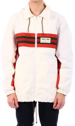 Gucci Logo Patch Drawstring Jacket