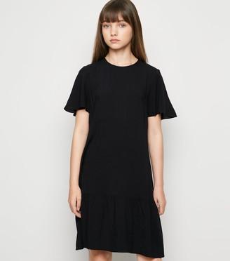 New Look Girls Tiered Mini Dress