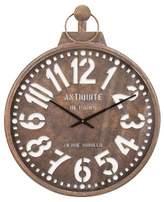 "Aurora Traditional Decorative Clock (26.57 X 26.18 X 4.33"")"