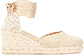 Castaner High Wedge Heel Espadrilles