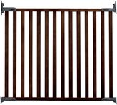 KidCo Wood Angle-Mount Safeway® Gate in Espresso
