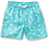 Class Club Little Boys 2T-7 Pelican-Print Swim Trunks