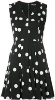Dolce & Gabbana polka dot mini dress - women - Silk/Cotton/Polyamide/Spandex/Elastane - 40