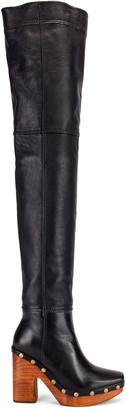 Jacquemus Knee High Boot in Black | FWRD