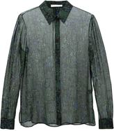 Jason Wu sheer printed shirt