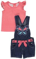 "Nannette Baby Girls' ""On the Fly"" 2-Piece Outfit"
