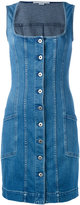 Stella McCartney sleeveless denim dress - women - Cotton/Polyester/Spandex/Elastane - 40